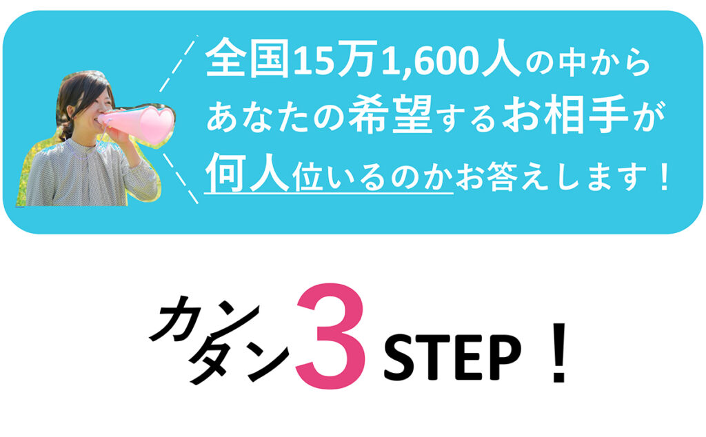 Go縁ガールの無料簡単婚活お相手検索